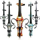 Aliyes Handmade professionale in legno massiccio violoncello elettrico 4/4Full size Silent violoncello elettrico, DT-1003