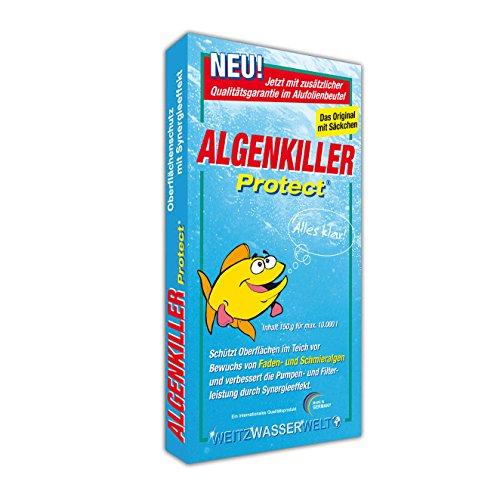 Algenkiller Protect® - Wasserpflege für Garten- und Schwimmteiche (150 g)