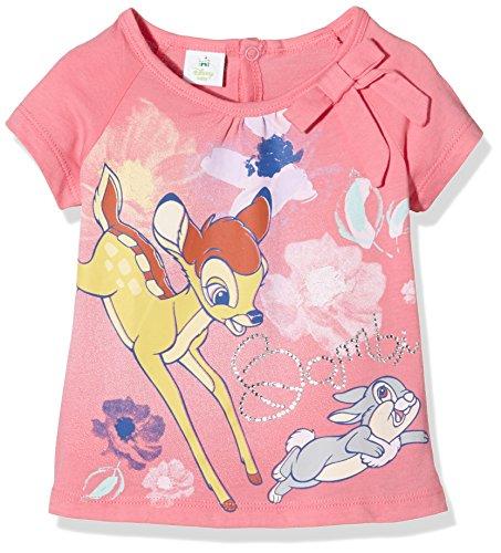 Brums Baby-Mädchen T-SHIRTJERSEY C/FIOCCO Bambi Schlafanzugoberteile, ROSA Scuro 06, 9M