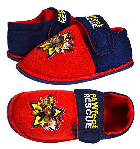 nickelodeon-zapatillas-de-estar-por-casa-para-nino-color-rojo-talla-275-eu-nino
