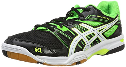 asics-gel-rocket-7-chaussures-de-volleyball-homme-multicolore-black-green-gecko-white-425-eu
