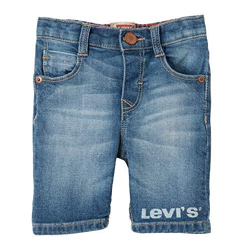 Levi's Kids Baby - Jungen Nn25014 46 Bermudas Badeshorts, Blau (Indigo 46), 18-24 Monate (Herstellergröße: 24M) -