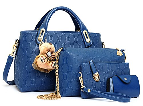 Yiyida, Borsa a mano donna beige Beige Blue