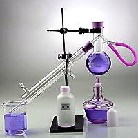 Distiller Distillation Apparatus Lab - Destilador de agua para destilador de alcohol, aceite esencial, 10 juegos (100 ml)