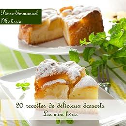 20 Recettes de Délicieux Desserts (Les minis livres t. 7) par [Malissin, Pierre-Emmanuel]
