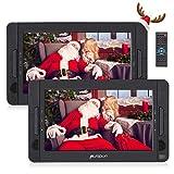 Pumpkin 10.1' Reproductor DVD Portátil Doble Pantalla para Reposacabezas de Coche, Soporta SD/USB/CD/DVD...