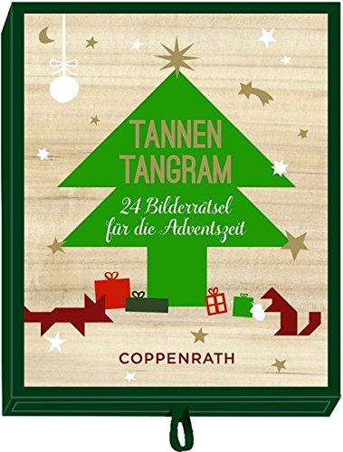 Schachtelspiel - Tannen-Tangram: 24 Bilderrätsel für die Adventszeit -