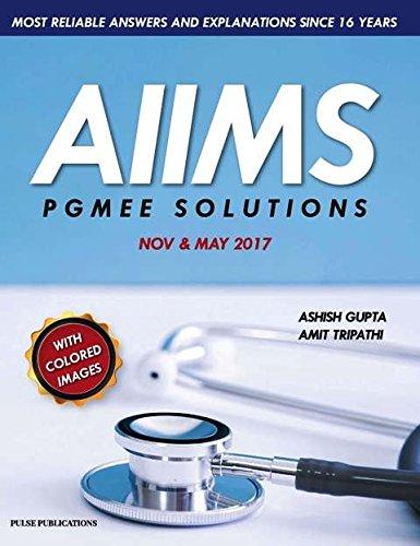 AIIMS PGMEE SOLUTIONS NOV & MAY 2017