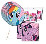 IRPot - KIT N 2 COORDINATO COMPLEANNO MY LITTLE PONY RAINBOW