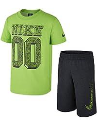 Nike SS Top + Short GFX #1 LK - Chándal para niño