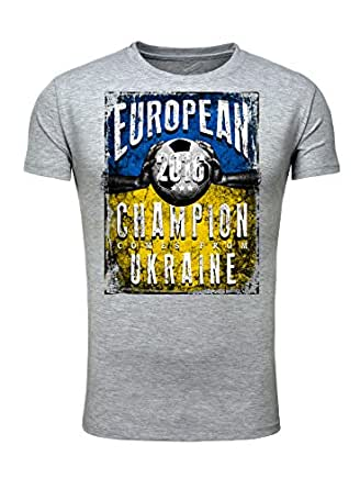 Legendary Items T-Shirt EUROPEAN CHAMPION 2016 Ukraine Printshirt Europameister EM Fußball Trikot