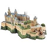 CubicFun Puzzle 3D Germany Castle of Hohenzollern Architectures Kit Modello di Costruzione Regalo per Adulti e Bambini, 185 Pezzi