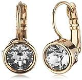 Dyrberg/Kern Damen-Ohrhänger Vergoldetes Metall Madu rg crystal 334720