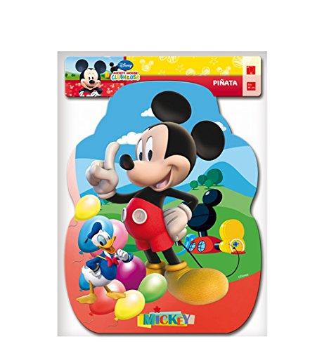 Mickey Mouse - Piñata Perfil Clubhouse balones, 33X46 cm (Verbetena 014000283)