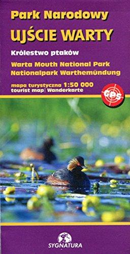 Park Narodowy Ujscie Warty królestwo ptaków mapa turystyczna 1:50 000