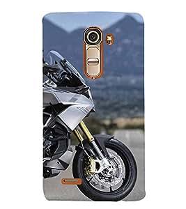Fiobs Designer Back Case Cover for LG G4 Mini :: LG G4c :: LG G4c H525N (Bike Motorcycle Cool Vehicle Swag Boy )