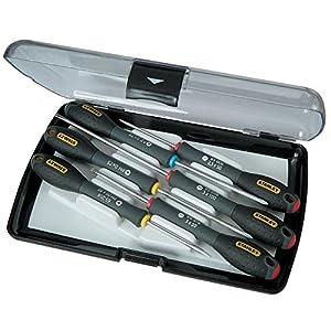 5143y0tLvBL. SS300  - Stanley 0-65-492 Juego 6 destornilladores de precisión FatMax, Set de 6 Piezas
