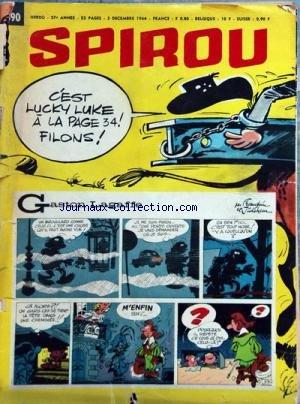 Gaston Lagaffe 12 - SPIROU [No 1390] du 03/12/1964 - GASTON