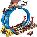 Disney Cars Pista Super Scontri XRS Mud Racing Playset per Macchinine con Veicolo Saetta McQueen Incluso, Giocattolo per Bambini 4+ Anni, FYN85