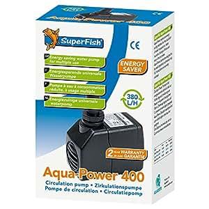 Pompe à eau pour aquarium 420 l/h Superfish AquaPower 400