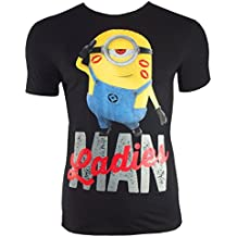 Minions Camiseta de Ladies Man