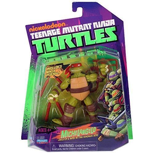 Turtles Michelangelo Jokester & Hard-Hitting Nunchuck Hero (Versand aus UK) (Ninja Mit Nunchucks)