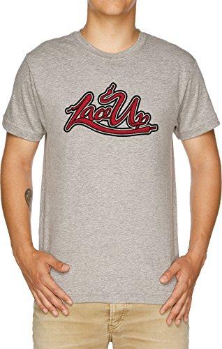 MGK Lace Up Herren T-Shirt Grau (Mgk-t-shirt)