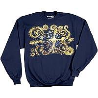 Doctor Who Van Gogh Pandoric Image Pullover Sweatshirt