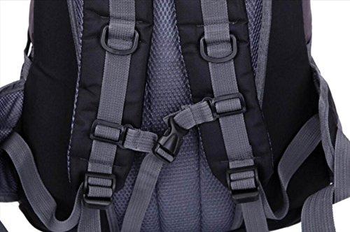 LQABW40L Neues Im Freien Bergsteigen Tasche Männer Und Frauen-Schulter-Wasserdicht Atmungs Freizeit Reisen Rucksack Orange