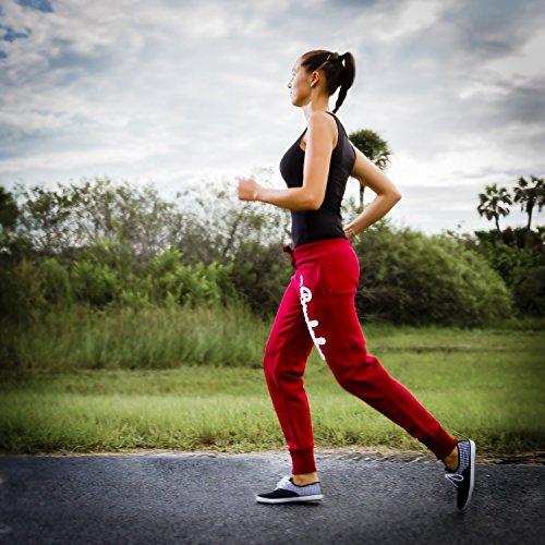 Brubaker n.y. eagle american style fitness workout pantalon de survêtement pour femme 6 coloris-taille s-xL Bleu - Marine Blau