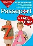 Passeport : du CM1 vers le  CM2