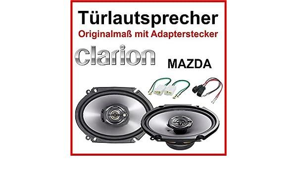 Hifonics Speaker 400/W 16.5/cm vx6.2e Kompo incl fitting kit for Mercedes Sprinter 2006/Onwards