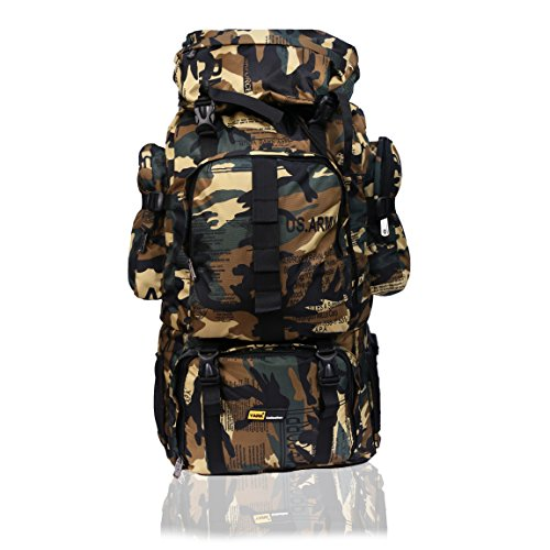 Yark Muticoloured Mountain Hiking Rucksack (60 Lt)