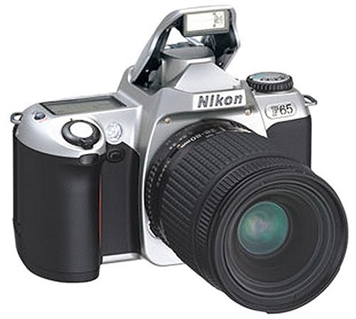 Nikon F65 Spiegelreflexkamera silber
