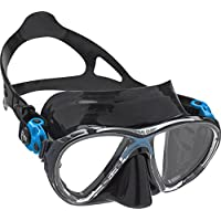 Cressi Big Eyes Evolution - Gafas de buceo unisex, color negro / azul