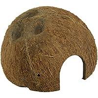 JBL Coco de Carcasa como cueva para acuarios y terrarios, Cocos Cava