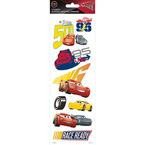 Sandylion Disney Tall Specialty Stickers-Cars 3