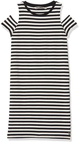 Kleid O82484, Mehrfarbig (Off Black 1755), 140 (Herstellergröße: 140/146) (Teen Girl Kleid)
