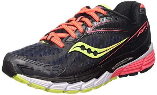Saucony Ride 8 W - Zapatillas de running Mujer, Negro (Black (Midnight