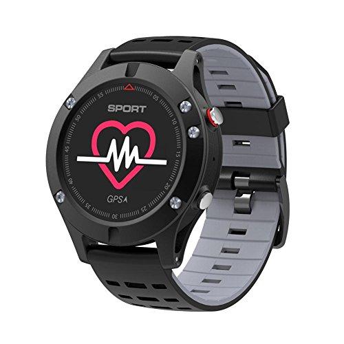 Waroomss F5Sport Smart Orologio Barometro Altimetro Termometro GPS multifunzione impermeabile gps Outdoor Sport orologi per uomini, donne Correre, escursionismo