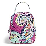 Best Iconic Handbags - Vera Bradley Iconic Lunch Bunch, Signature Cotton, Wildflower Review