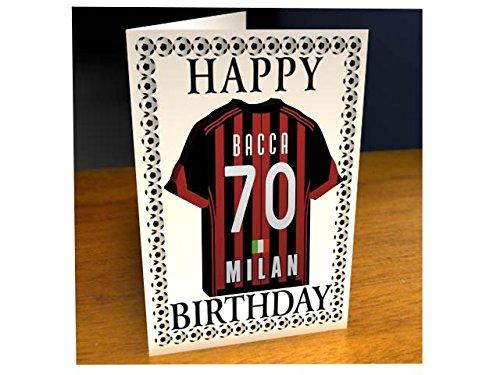 SERIE A ITALIAN FOOTBALL TEAM SHIRT BIRTHDAY CARDS FREE – Italian Birthday Card