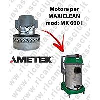 MX 600I Motor ametek de aspiración para aspiradora y te Maxiclean