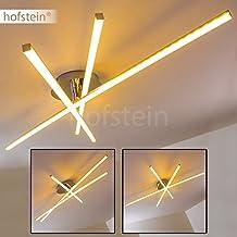 Moderna Lampara de techo LED Powassan - 3x LED 8 W alta eficiencia - 300 Lumens cada Luz 3000K blanco cálido - Brazo flexible para cambiar el diseño