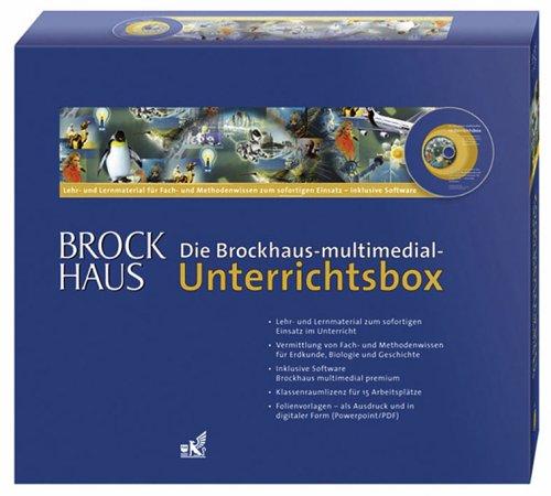 Die Brockhaus-multimedial-Unterrichtsbox. Gebrauchsfertiges Lehr- und Lernmaterial für Fach- und Methodenwissen inklusive Software.