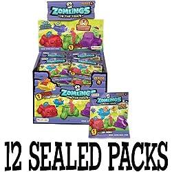 12 paquetes de la serie Zomlings 4 Zom-Mobile