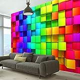 murando - Fototapete Kubus 400x280 cm - Vlies Tapete - Moderne Wanddeko - Design Tapete - Wandtapete - Wand Dekoration - 3D f-A-0350-a-a