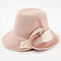 LBY Verano Plegable Playa De Viajes Al Aire Libre Grande Sombrero De Playa Protector Solar Gorro Cuenca Pescador Sol Sombrero Sombreros de Sol