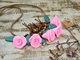 Best Bud Necklaces - Flower Clay necklace Flower jewelry handmade necklace Floral Review