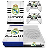 #4: Hytech Plus Real Madrid Blue Theme Sticker for Xbox One S Console & 2 Controllers